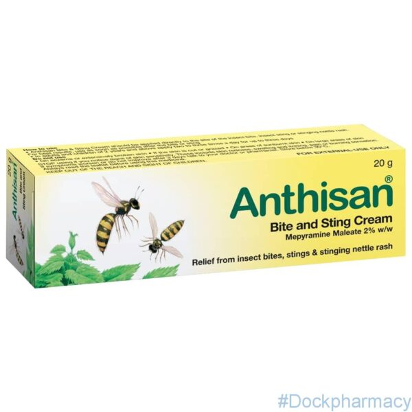 Anthisan Bite And Sting Cream