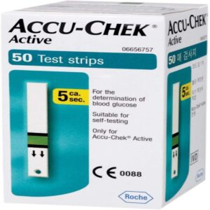 Accu-Chek Active Blood Glucose Test Strips
