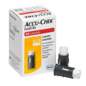 Accu Chek Fastclix Blood Sugar Lancets