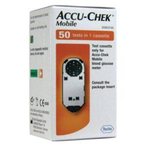Accu-Chek Mobile Cassette Blood Glucose Test Strips