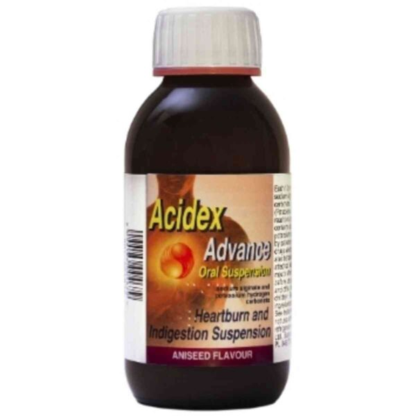 Acidex Advance Oral Suspension Aniseed Flavour 500ML