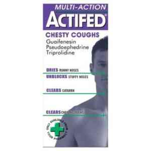 Actifed Chesty Coughs Multi-Action, 100ml