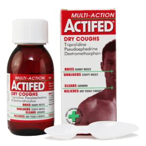 actifed multi action dry cough linctus
