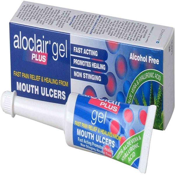 Aloclair Plus Mouth Ulcer Treatment Gel