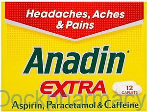 Anadin Extra, 12 Caplets