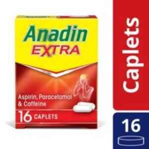Anadin Extra Caplets, 16 Caplets