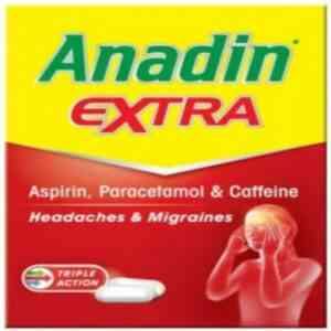 Anadin Extra Caplets, 32 Caplets