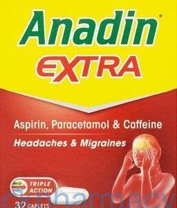 Anadin Extra, 32 Caplets