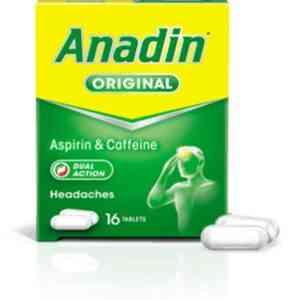 Anadin Original Caplet, 16 Caplets