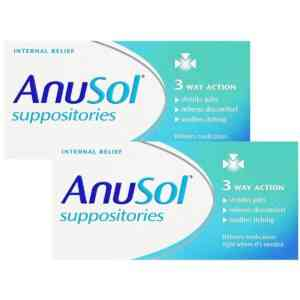 Anusol Suppositories, 12 Suppositories