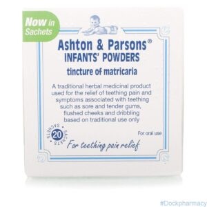 Ashton & Parsons Infant Powder 20 Sachets