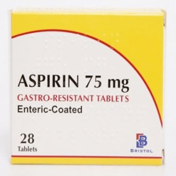 Aspirin 75mg Enteric Coated Tablets