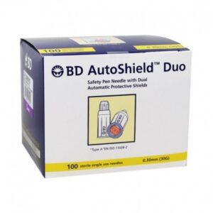 BD Autoshield Duo Insulin Pen Needle 5mm 30g