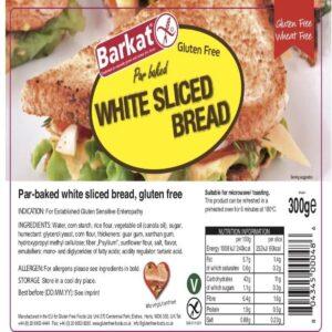 Barkat Gluten Free White Sliced bread