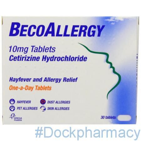 Beco Allergy 10mg Tablet
