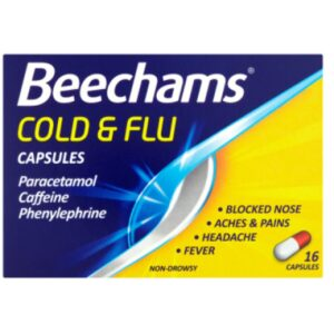 Beechams Capsules For Cold And Flu