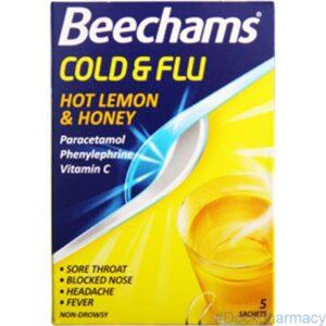 Beechams Cold And Flu Honey and Lemon