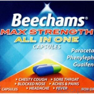 Beechams Max Strength All in One Capsule 16 capsules