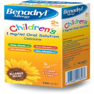 Benadryl Allergy Childrens Solution