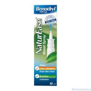 Benadryl Allergy Naturease Nasal Spray s