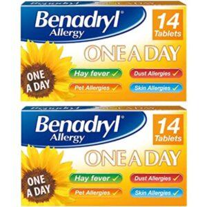 Benadryl Allergy One A Day 10mg Cetirizine Tablets