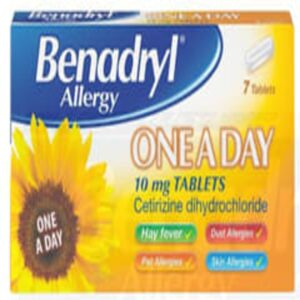 Benadryl Allergy One A Day Relief Tablets