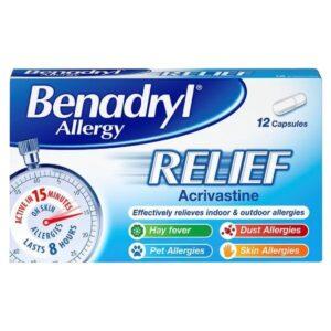 Benadryl Allergy Relief Caps