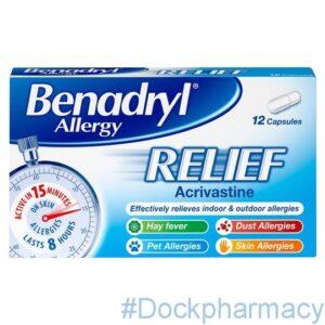 Benadryl Allergy Relief Cap