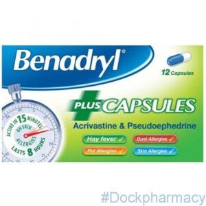 Benadryl Allergy Relief Capsule