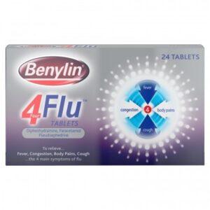 Benylin 4 Flu tabs