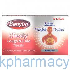 Benylin Chesty Cough And Cold Tablet
