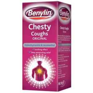 Benylin Chesty Cough Original Syrup, 150ml