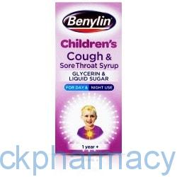 Benylin Cough And Throat Syrup