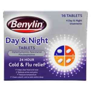 Benylin Day and Night Cold And Flu Tablets