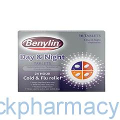 Benylin Day and Night Tablets