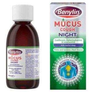 Benylin Mucus Cough Night, 150ml