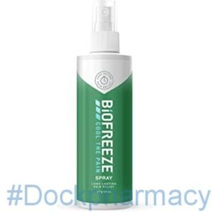 Biofreeze Pain Relief Spray #dockpharmacy