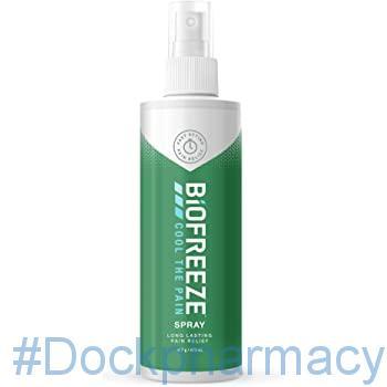 Biofreeze Pain Relief Spray #dockpharmacy