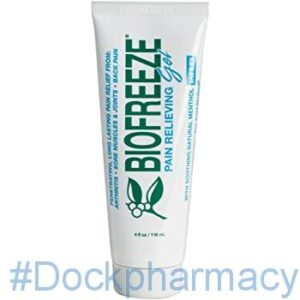 Biofreeze Pain Relieving Gel #dockpharmacy