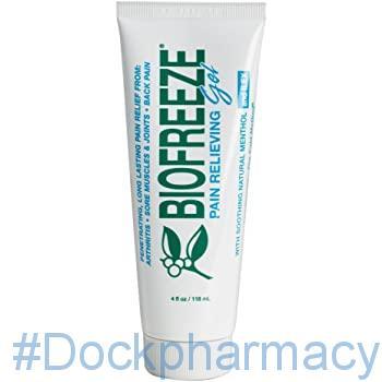Biofreeze Pain Relieving Gel #dockpharmacy