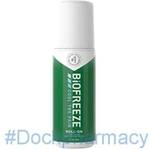 Biofreeze Pain Relieving Roll-on Gel #dockpharmacy