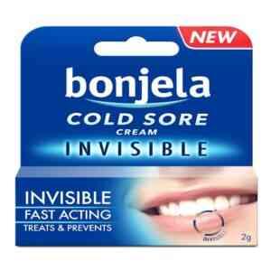 Bonjela Cold Sore Cream Invisible, 2g