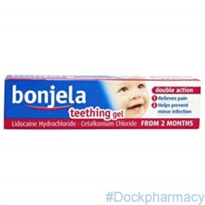 Bonjela teething gel 15g