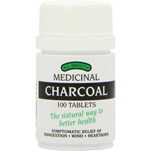 Braggs Charcoal Tablets Indigestion Wind And Heartburn Relief