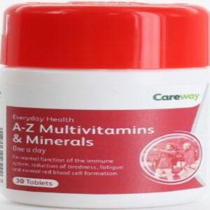 CAREWAY A-Z MULTIVITAMIN & MINERAL TABlets