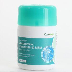 CAREWAY Glucosamine Chondroitin & MSM Tablets