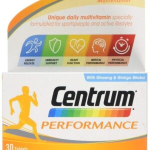 Centrum Performance tablets