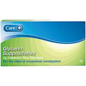 Glycerin Suppositories Child