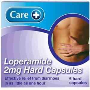 Care Loperamide 2mg Capsules, 6 Capsules