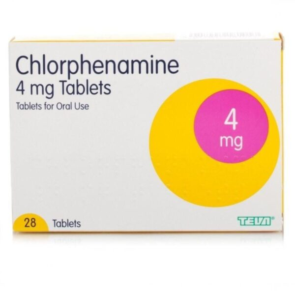 Careway Allergy Relief Chlorphenamine 4mg Tablets